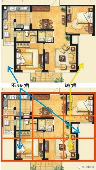 什么样的房屋户型是西北缺角?西北缺角的房型户型大全。买了缺角的房型怎么办?如何化解房屋户型风水缺角?|菩萨网-观音