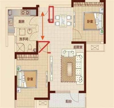卧室房门对大门好不好?进门对卧室门的布局(有图),风水化解卧室冲大门的三种方法