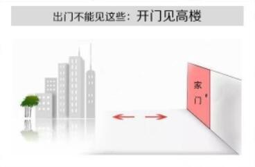 """什么是开门见高楼?大门前有高楼怎么破解?大门前有高楼、门对高楼的导致""""门前起高楼、宅运不长久,强邻压境、难以出头"""""""